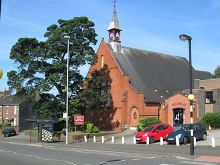 St Michael and All Angels, on St Michael's Road - Click for our services